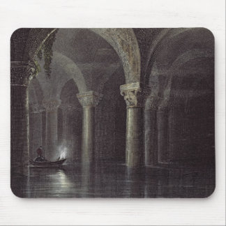 Yere Batan Serai (The Cisterns) Istanbul, engraved Mouse Pad