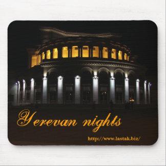 Yerevan nights mouse pad