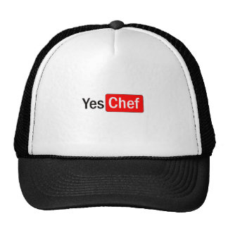 Yes Chef Cap