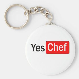 Yes Chef Key Ring