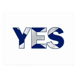 Yes Design Postcard