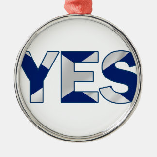 Yes Design Silver-Colored Round Decoration