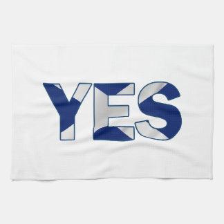 Yes Design Tea Towel