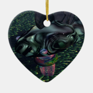 Yes Dragoness Dragon Fantasy Gifts CricketDiane Ceramic Heart Decoration