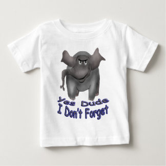 Yes Dude I Don't Forget Tees