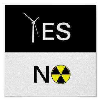 """YES"" FOR CLEAN ENERGY POSTER"