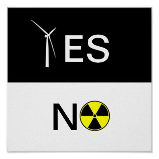 """YES"" FOR CLEAN ENERGY PRINT"