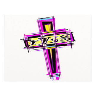 YES for The Cross. Post Card