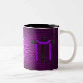 Yes He Did! Two-Tone Mug