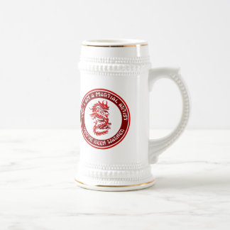 Yes, I am a Martial Artist 18 Oz Beer Stein