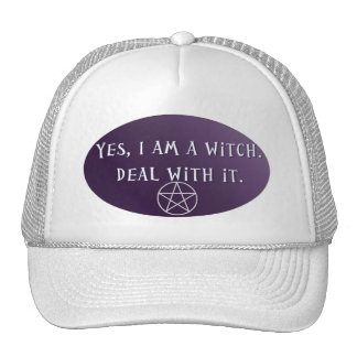 Yes I am a Witch, deal with it! Cap