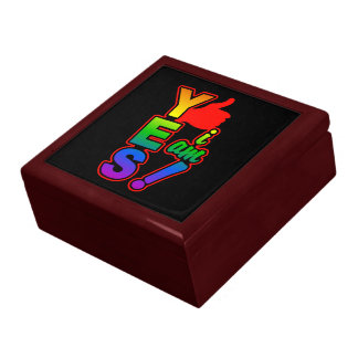 YES I AM gift / jewelry box