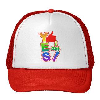 YES I AM hat - choose color