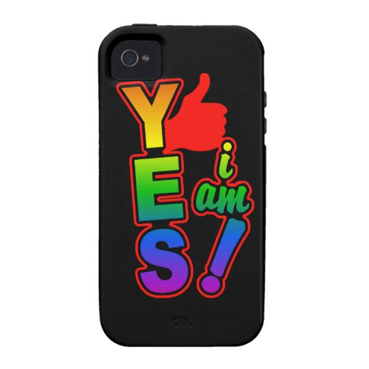 YES I AM iPhone 4 Case-Mate
