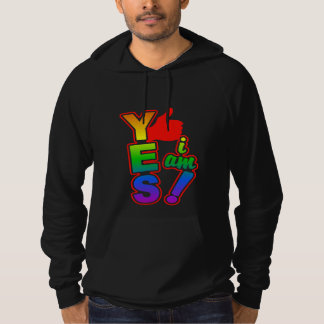 """YES I am!"" shirts, hoodies & jackets"