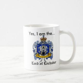 Yes, I am the Lord of Lochaber Basic White Mug