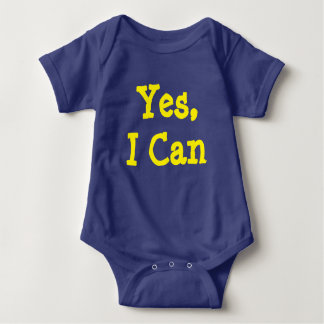 Yes, I Can Baby Bodysuit