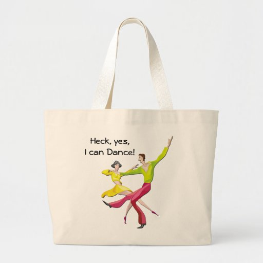 Yes I Can Dance Tote Bag