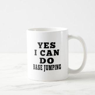 Yes I Can Do Base Jumping Basic White Mug