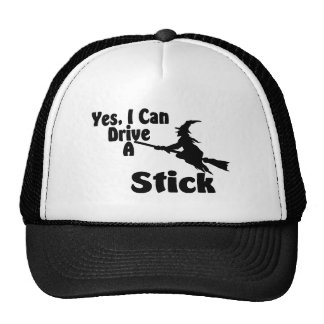 Yes, I Can Drive A Stick Mesh Hat