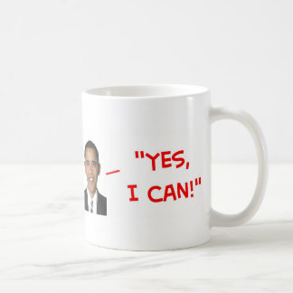 yes I can obama lincoln fool people Coffee Mugs