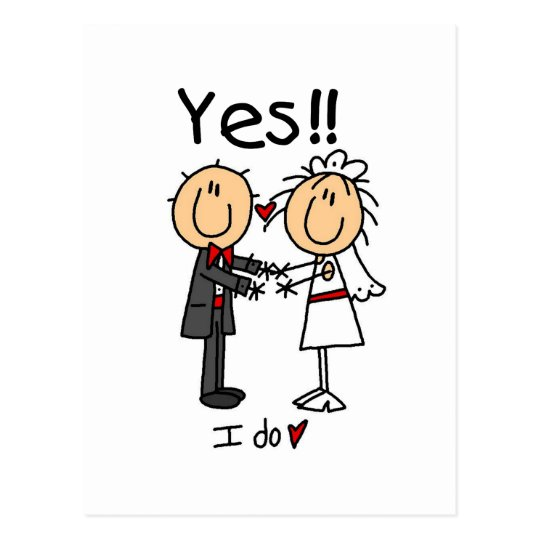 YES I Do Bride and Groom T-shirts and