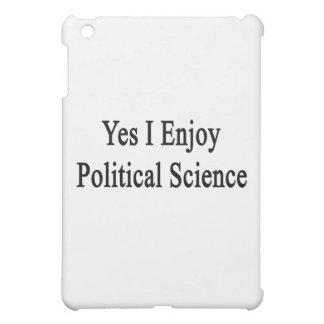 Yes I Enjoy Political Science iPad Mini Covers