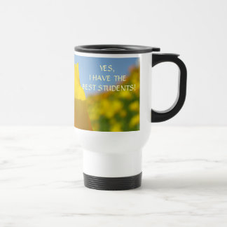 Yes I have BEST STUDENTS! Coffee Cup Mug Poppies