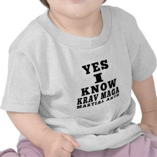 Yes I Know Krav Maga T-shirt