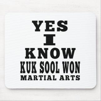 Yes I Know Kuk Sool Won Mousepads