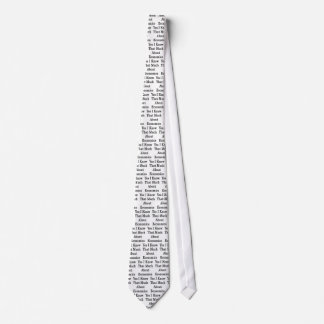 Yes I Know That Much About Economics Tie