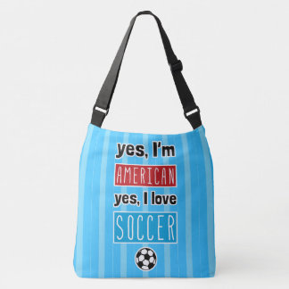 Yes I Love Soccer All Over Print Bag