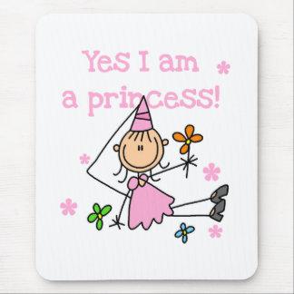 Yes I m a Princess Mouse Mats