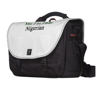 Yes I m That Nigerian Computer Bag