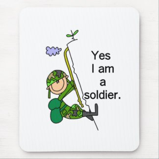 Yes I'm a Soldier Mouse Mat