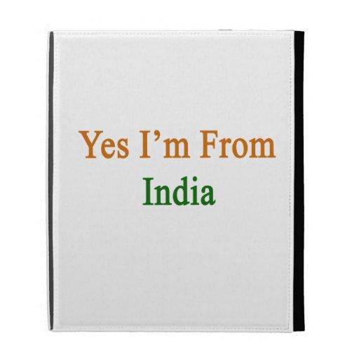 Yes I'm From India iPad Case