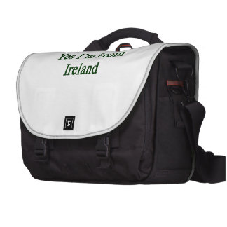 Yes I'm From Ireland Bags For Laptop