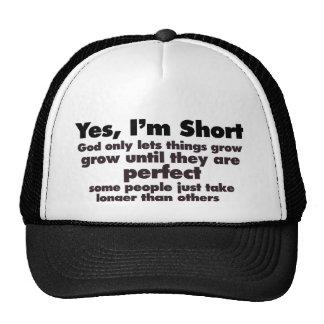 Yes I'm SHORT Cap