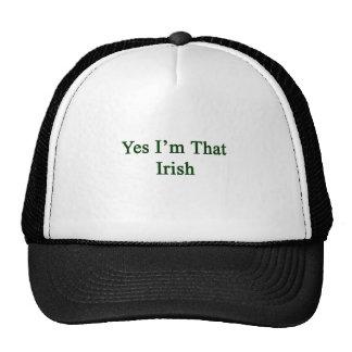 Yes I'm That Irish Mesh Hats