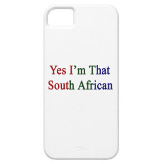 Yes I'm That South African iPhone 5 Case