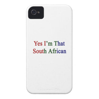 Yes I'm That South African iPhone 4 Case-Mate Case