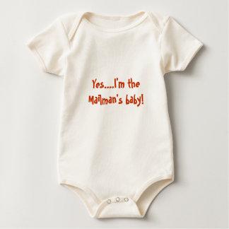 Yes....I'm the Mailman's baby! Baby Bodysuit