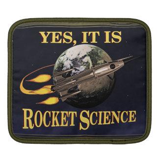 Yes, It Is Rocket Science iPad Sleeve