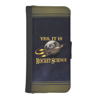 Yes It Is Rocket Science iPhone SE/5/5s Wallet Case