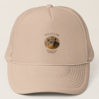 "YES, IT'S ME, ""DASSY"" TRUCKER HAT"