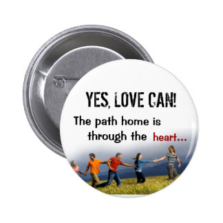 YES LOVE CAN Button