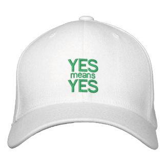 YES means YES - Customizable Baseball Cap