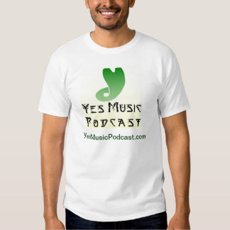 Yes Music Podcast T-shirt