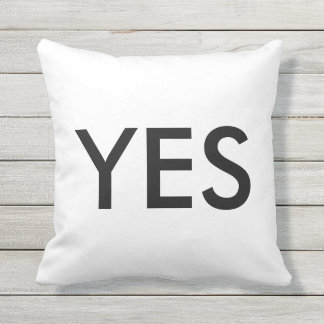 YES NO CUSHION