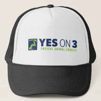 Yes on 3! Trucker Hat
